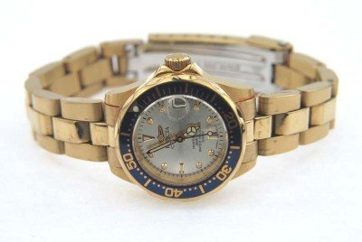 18: Invicta Professional Stainless Steel DateJust Watch