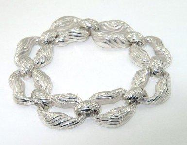 11A: 11A: Tiffany & Co Silver Bracelet