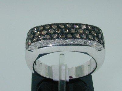 8: 14k White Gold Diamond Ring