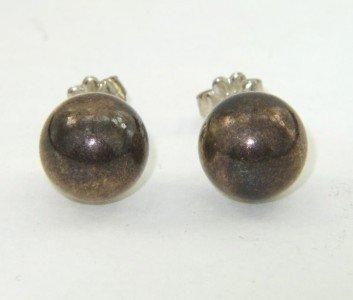 15: Tiffany & Co. Silver Earrings
