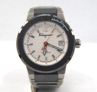 16: Salvatore Ferragamo Automatic Skeleton Watch