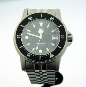18A: Tag Heuer DateJust Stainless Steel Professional Wa