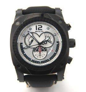 3: 3: 3: Invicta Stainless Steel Chronograph Watch