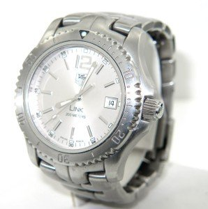 15A: Tag Heuer Stainless Steel Professional DateJust Wa