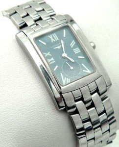 18: Longines Stainless Steel Watch
