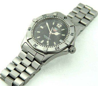 19: Tag Heuer Stainless Steel Date Just Professional Wa