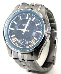 18A: Fossil stainless steel watch