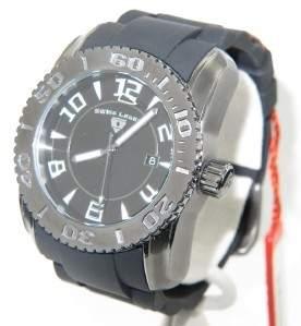 Swiss Legend Stainless Steel Rubber Strap Watch