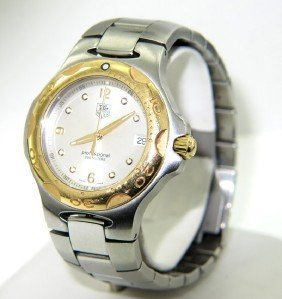 7: Tag Heuer 18K Gold Stainless Steel Profession