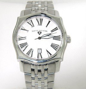 10: Swiss Legend Stainless Steel Watch