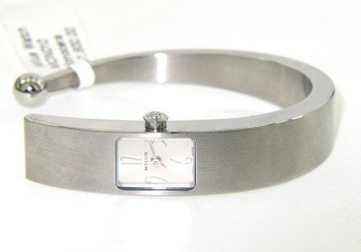 11: Milus Stainless Steel Bangle Watch
