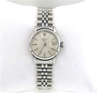 Rolex Stainless Steel Ladies Watch