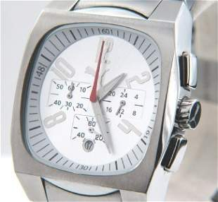 Puma Stainless Steel Date Just Chronograph Watch
