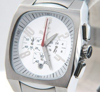 18: Puma Stainless Steel Date Just Chronograph Watch