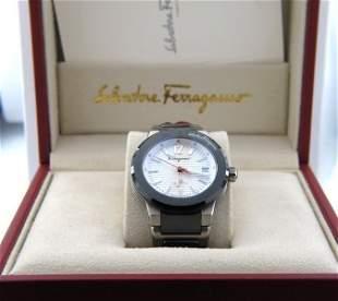 Salvatore Ferragamo Automatic Skeleton Watch