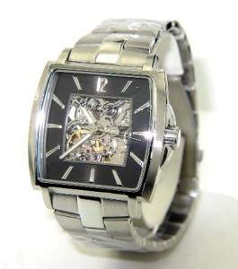 Kenneth Cole Stainless Steel Skeleton Watch