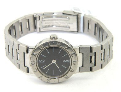 11: Bvlgari Stainless Steel Watch