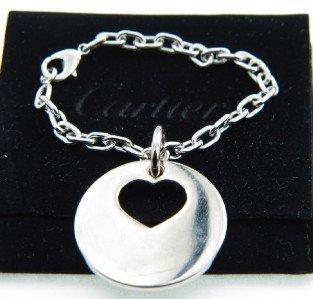 17A: Cartier Stainless Steel Bracelet