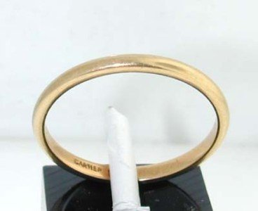 4: 4: Cartier 18k Yellow Gold Ring