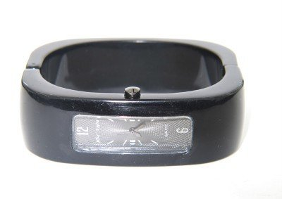 12A: 12A: Betset Johnson Stainless Steel Bangle watch
