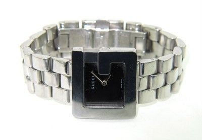 340: Gucci Stainless Steel Watch