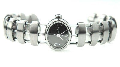 13: 13: Milus Stainless Steel Bangle Watch