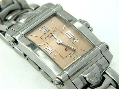 14: 14: Charriol Stainless Steel Date Just Watch