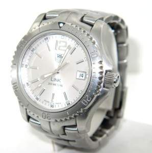 15A: 15A: Tag Heuer Stainless Steel Professional D