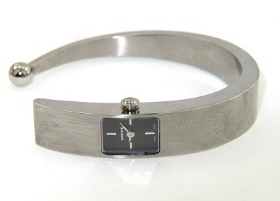 17: 17: 17: Milus Stainless Steel Bangle Watch