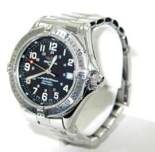 20A: 20A: reitling Stainless Steel Wristwatch