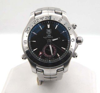 6: Tag Heuer Stainless Steel Automatic Men Watch