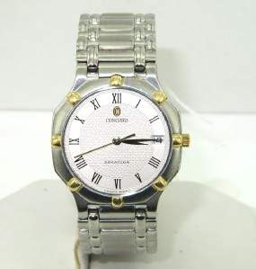 Concord Stainless Steel DateJust Watch
