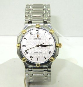 9: Concord Stainless Steel DateJust  Watch