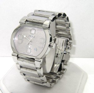 15: Fred Stainless Steel Date Just Watch