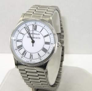 Tiffany & Co Portfolio Stainless Steel Watch