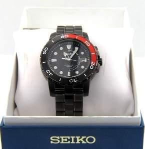 Seiko Stainless Steel Skeleton Watch