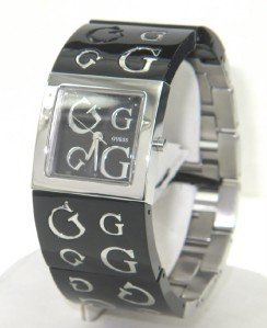 7: Guess Stainless Steel Watch