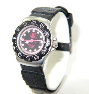 2: Tag Heuer DateJust Stainless Steel Rubber Strap Watc