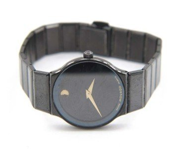 1: Movado Stainless Steel Watch