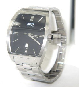 14: Hugo Boss Stainless Steel Date Just Watch