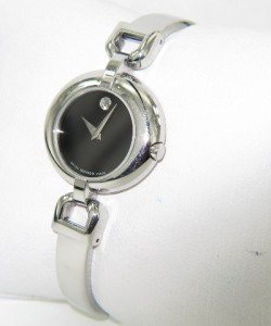 13A: Movado Stainless Steel Watch