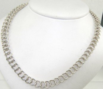 7B: Tiffany & Co Silver Necklace