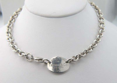 1A: Tiffany & Co Silver Necklace