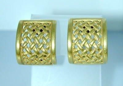 20: Kieselstein-cord 18K Yellow Gold Earrings