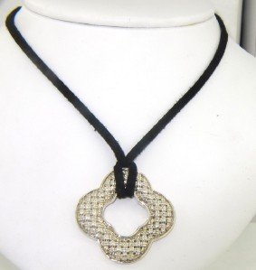 15: Charles Krypell Silver Necklace