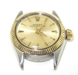 4A: Rolex 18K Yellow Gold/Stainless Steel Watch Head