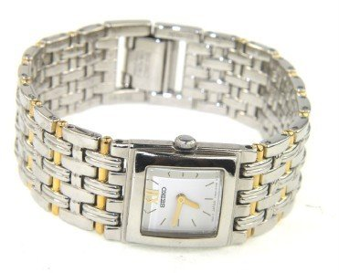1: Seiko Two -Toned Stainless Steel Watch