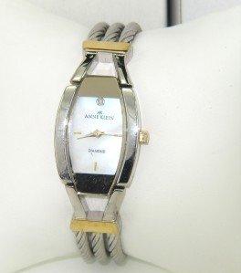 3: Anne Klein Stainless Steel Watch
