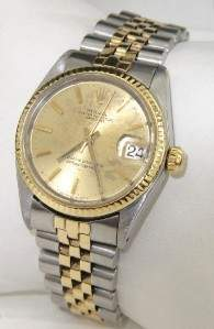 Rolex 2 -Toned Stainless Steel Watch