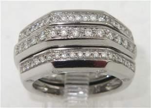 Audemars Piguet 18K White Gold Diamond Ring